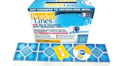 """Without The Appearance Of Liner: Swimming Pool Liner Makeover Kit 9""""-Bd"""