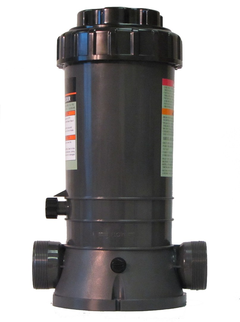 New Automatic Chlorinator for Above Ground and In-Ground Pools In-Line 9 Lbs