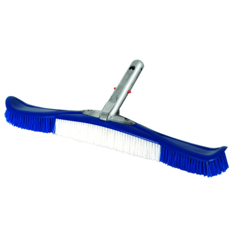 Deluxe 20in Flexible Pool Cleaning Brush with Aluminum EZ Clip Handle