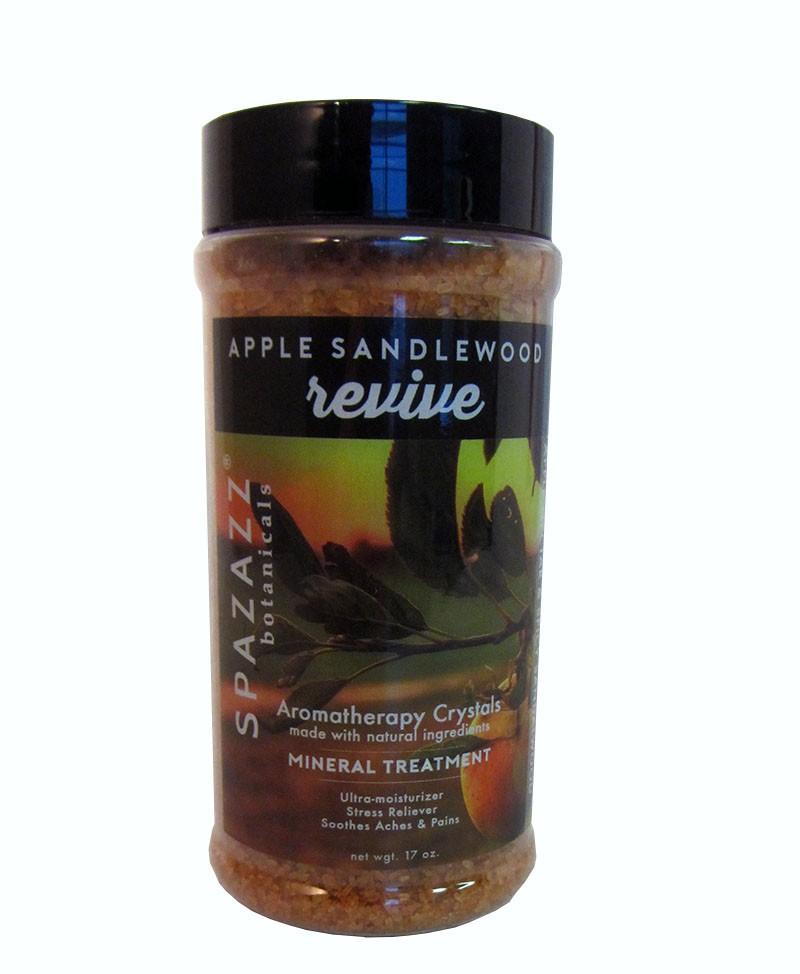 Spazazz Aromatherapy Spa and Bath Crystals - Apple Sandalwood 17oz