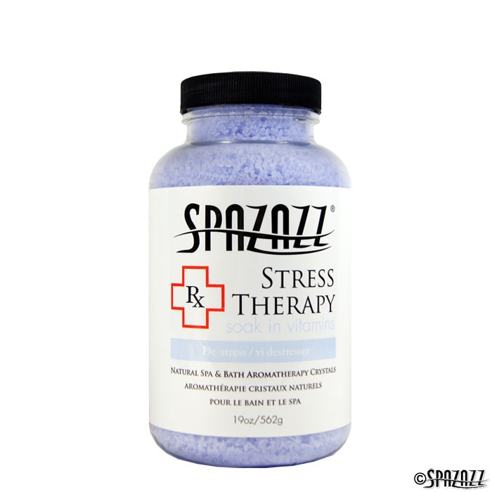 Spazazz Aromatherapy Spa And Bath Crystals Stress Therapy