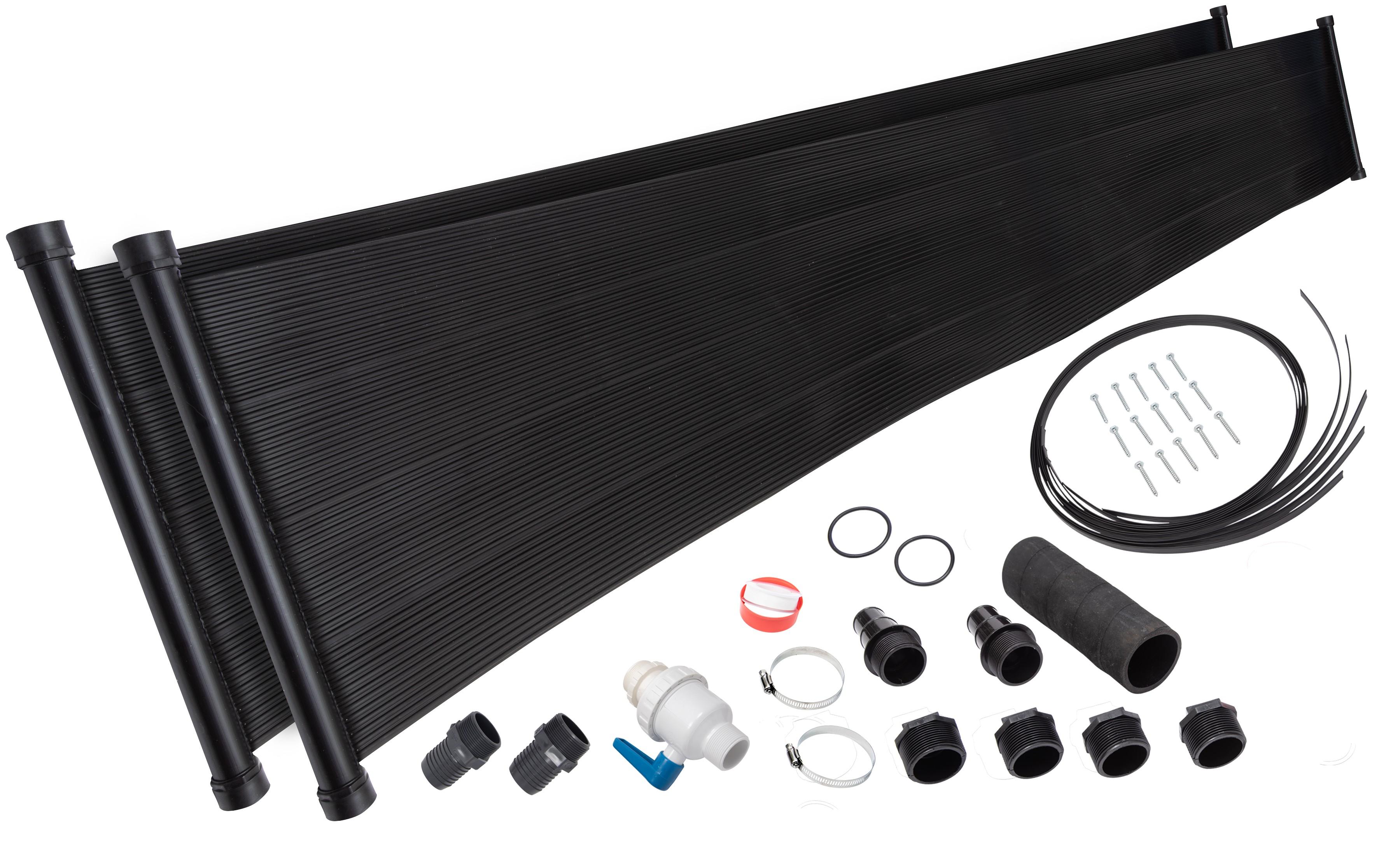 2 2 X20 Sunquest Solar Pool Heater W Integrated Valve