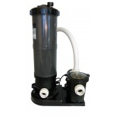 In-Ground Swimming Pool Cartridge Filter System with 1 HP Pump