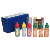 Swimming Pool Water Test Kit - Ch, Br, pH, Tot Alk, Acid Demand