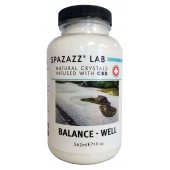 Spazazz Aromatherapy Spa and Bath Crystals Infused with CBD - Balance Well 19oz