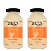 Spazazz Aromatherapy Spa and Bath Crystals - Grapefruit Orange 22oz (2 Pack)