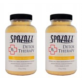 Spazazz Aromatherapy Spa and Bath Crystals- Detox Therapy (2 Pack)