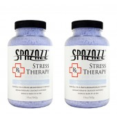 Spazazz Aromatherapy Spa and Bath Crystals- Stress Therapy (2 Pack)