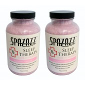 Spazazz Aromatherapy Spa and Bath Crystals- Sleep Therapy (2 Pack)