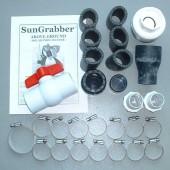 Complete System Kit For Sungrabber Solar Swimming Pool Heating Panels