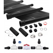 4-2X10' SunQuest Solar Swimming Pool Heater System with Diverter Kit