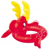Inflatable Animal Swim Ring for Small Children - Reindeer