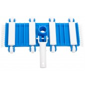 Vacuum Head on Wheels with Side Brushes for Concrete Swimming Pools
