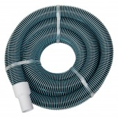 "Swimming Pool Commercial Grade Vacuum Hose 1.5"" - 15' length with Swivel End"