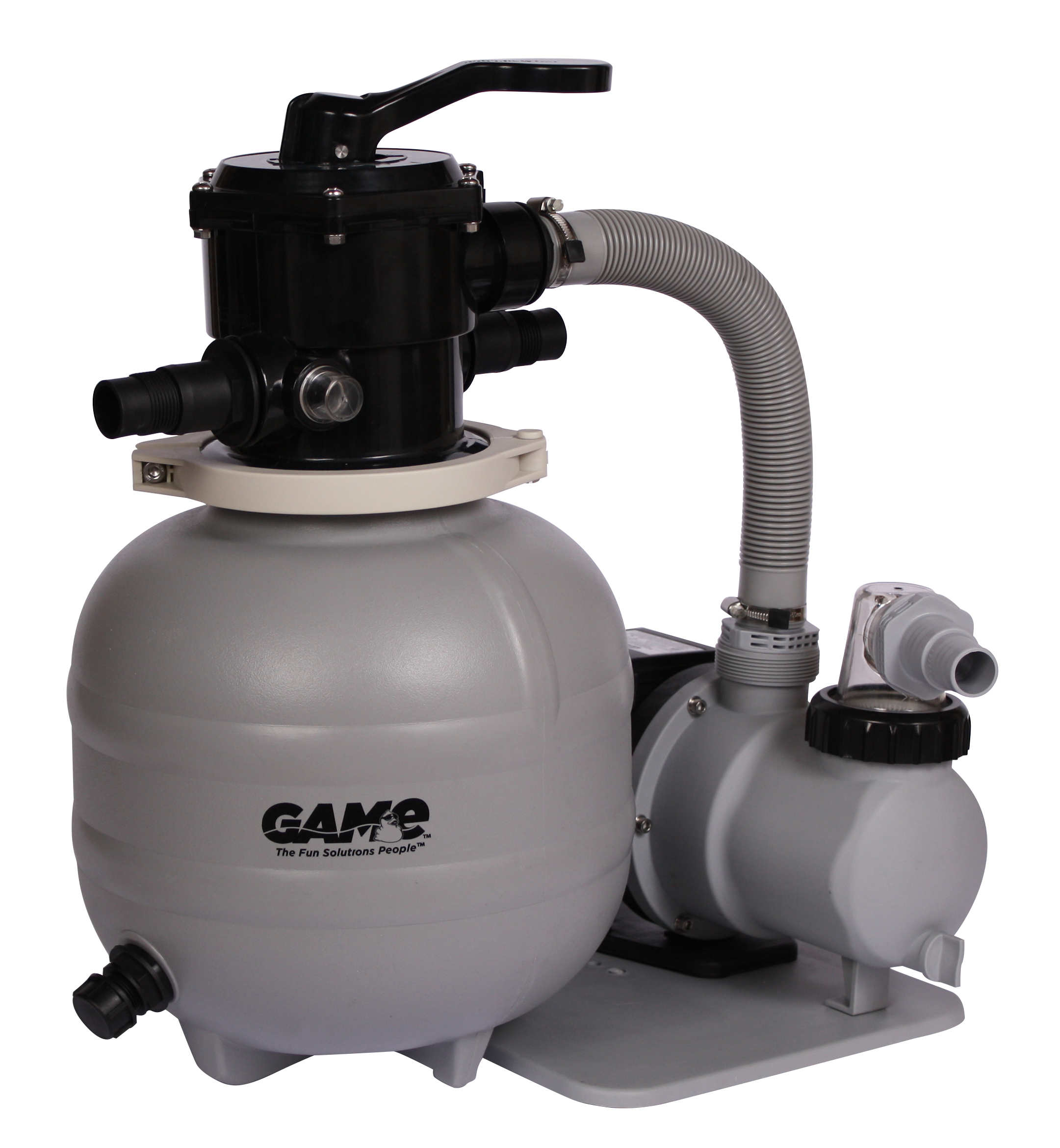 Sandpro 25 high flow pool pump and filter system for above for Pool filterpumpe obi