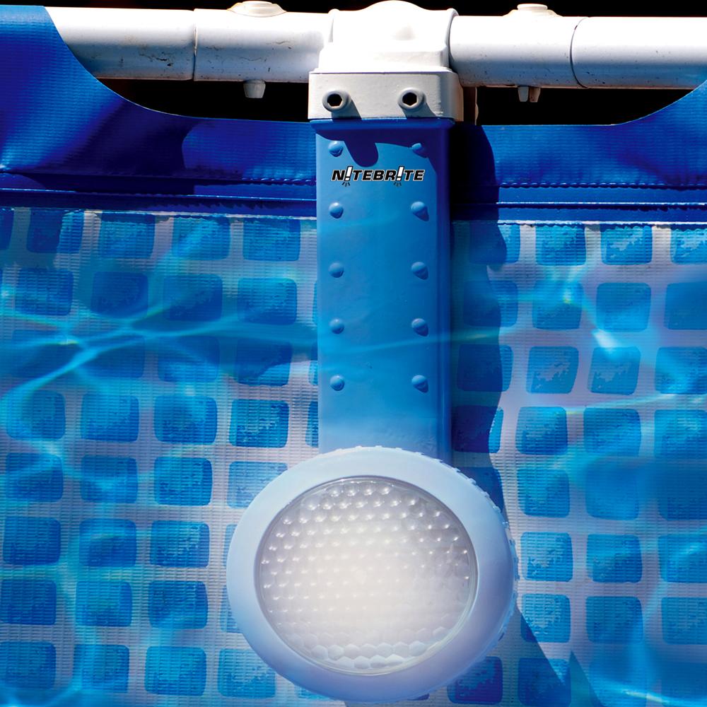 nitebrite underwater light for metal frame swimming pools. Black Bedroom Furniture Sets. Home Design Ideas