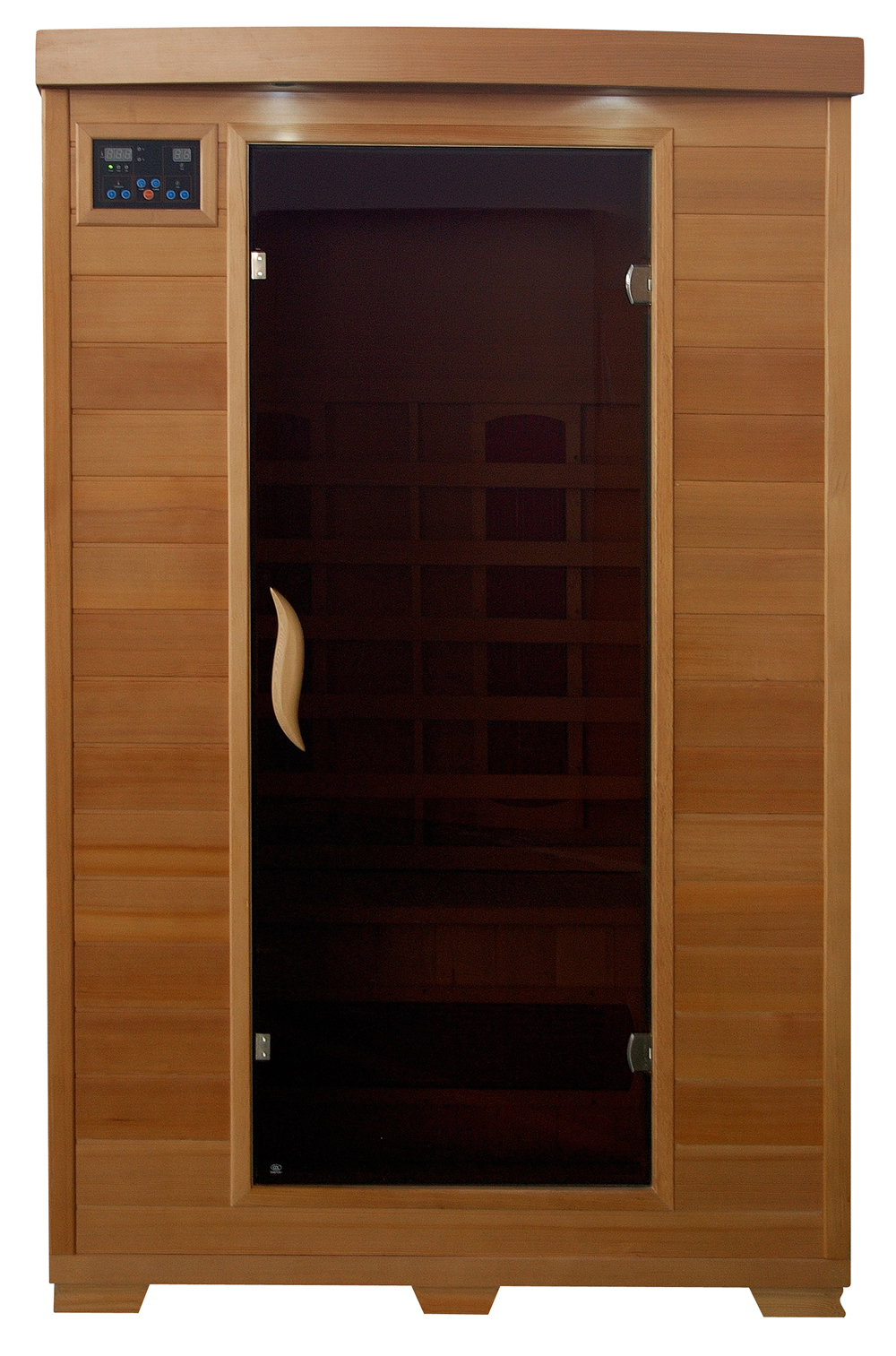 Infrared Sauna With Salt Wall In Nh Hotel Zandvoort The: 2 Person FAR Infrared Sauna With Ceramic