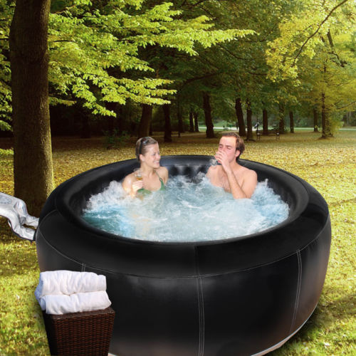 4 Person Inflatable Portable Heated Hot Tub Spa Ebay