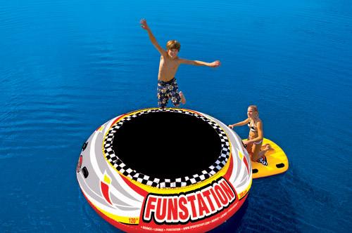 Kwik Tek SPORTSSTUFF 10' FUNSTATION - Giant Floating Trampoline at Sears.com