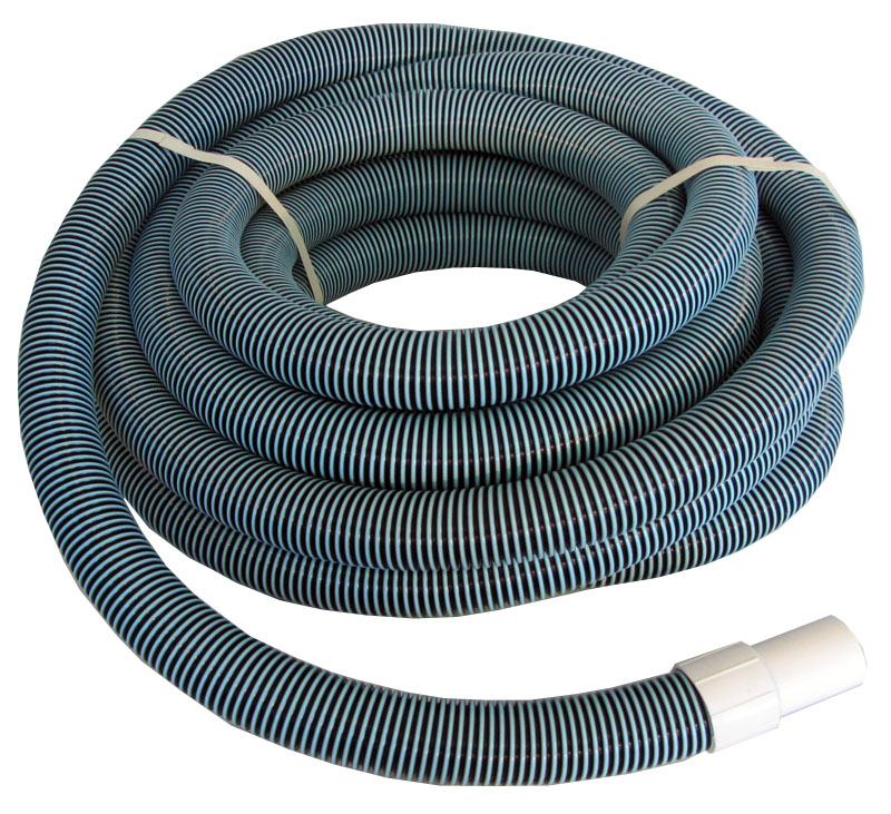 Swimming pool commercial grade vacuum hose 1 5 40 39 length with swivel end ebay for Swimming pool vacuum hose ends