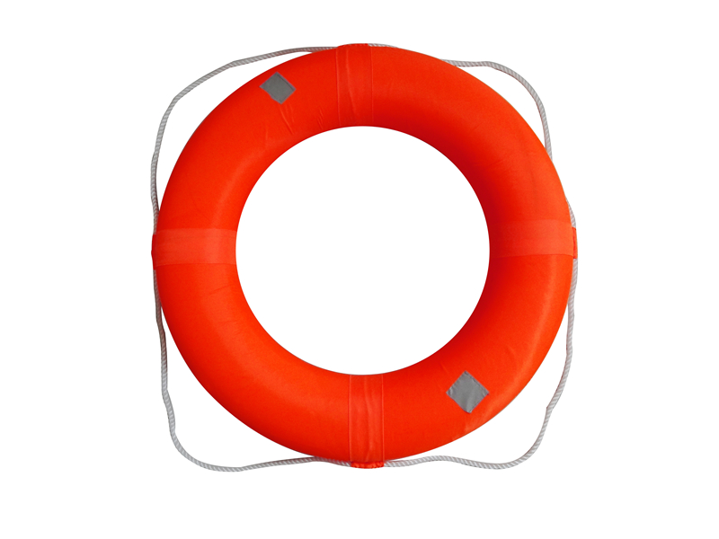 Adult Size Foam Ring Buoy For Swimming Pools 28 Inch With Perimeter Rope Ebay
