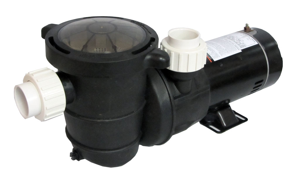 High Performance Swimming Pool Pump Above Ground 1 Hp With Union Fittings Ebay