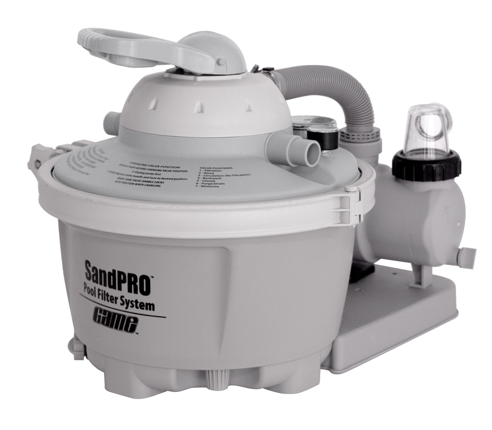Sandpro 50 High Flow Pool Pump And Filter System For
