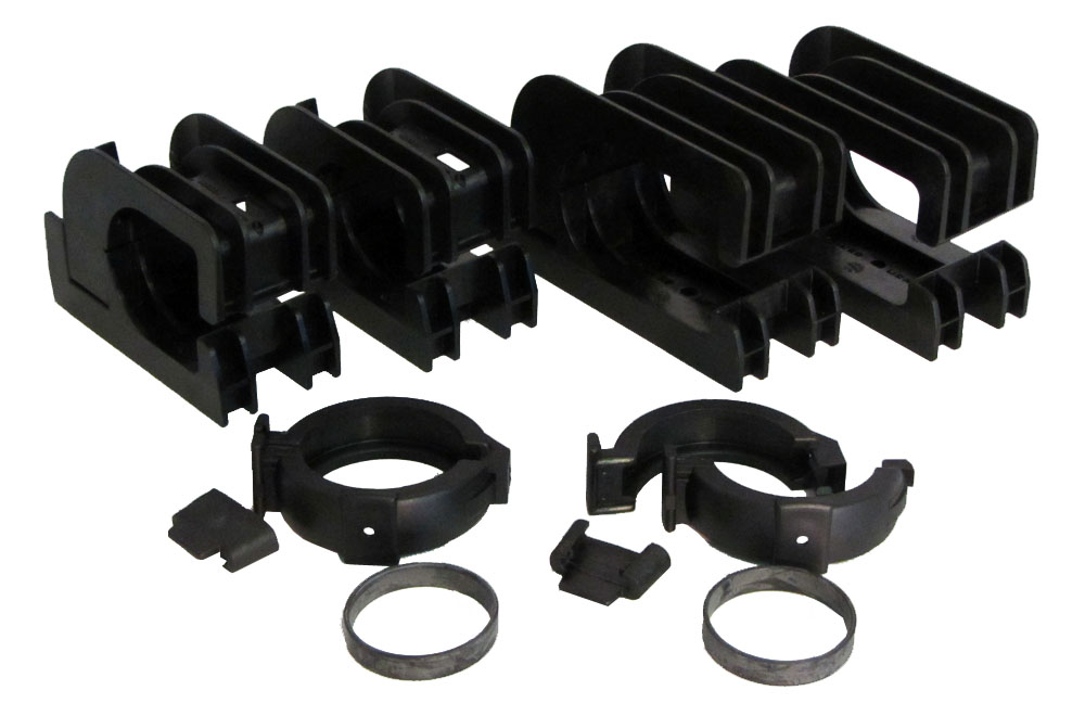 Heliocol Panel Kit With Gator Clamps For Swimming Pool