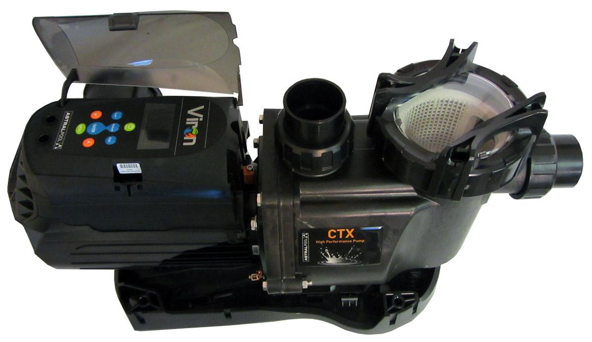 astral pool viron evo p280 1 5 hp variable speed swimming pool pump