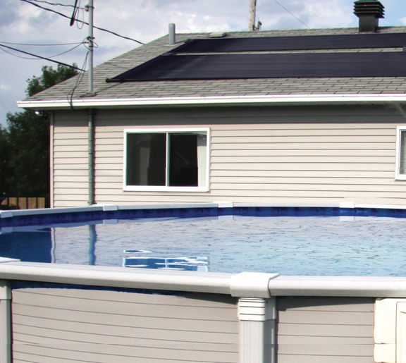6 2x20 Sunquest Solar Swimming Pool Heater Complete