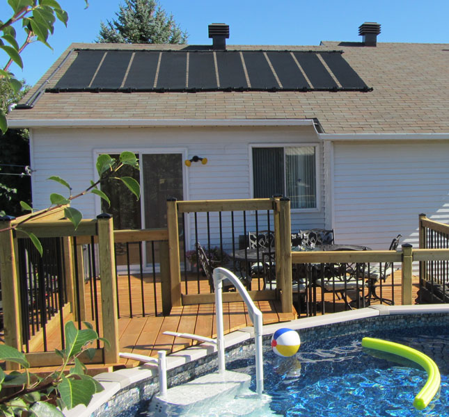 2 2 X10 Sunquest Solar Swimming Pool Heater With Roof