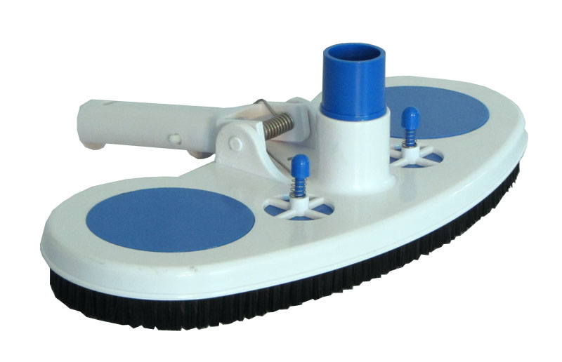 Swimming Pool Cleaning Head : Swimming pool vacuum head with air relief valves and