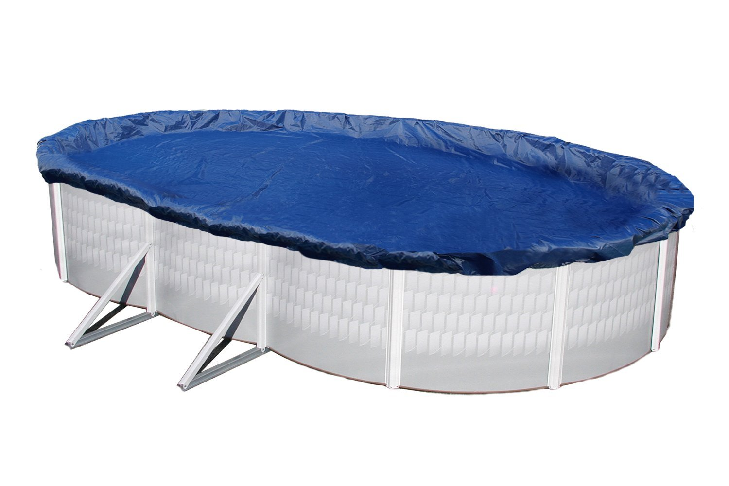 Winter pool cover above ground 16x28 ft oval arctic armor for Above ground pool winter cover ideas