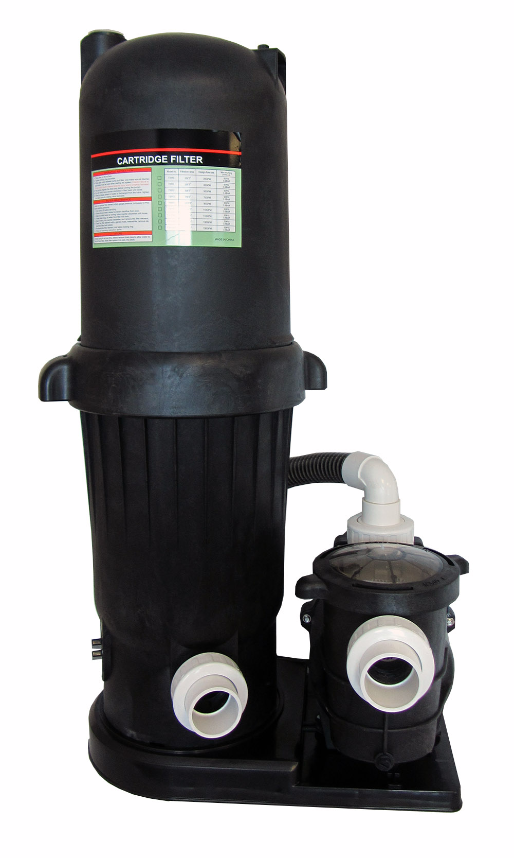 Deluxe in ground swimming pool 150sf cartridge filter - Swimming pool cartridge filters pump ...